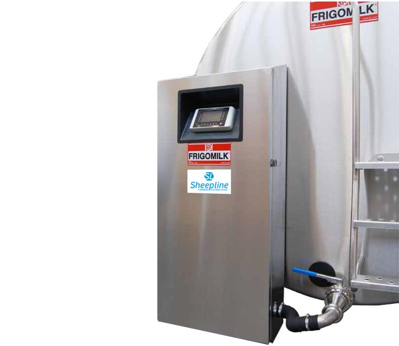 Νέο ηλεκτρονικό σύστημα γάλακτος Frigomilk XFIC
